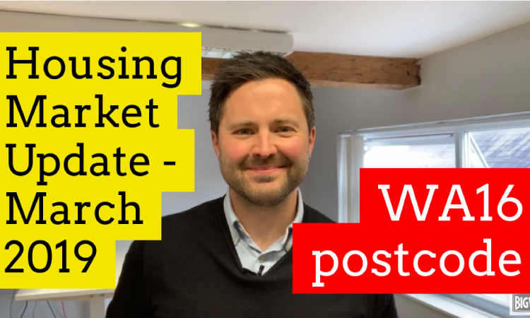 WA16 – Housing Market Update March 2019