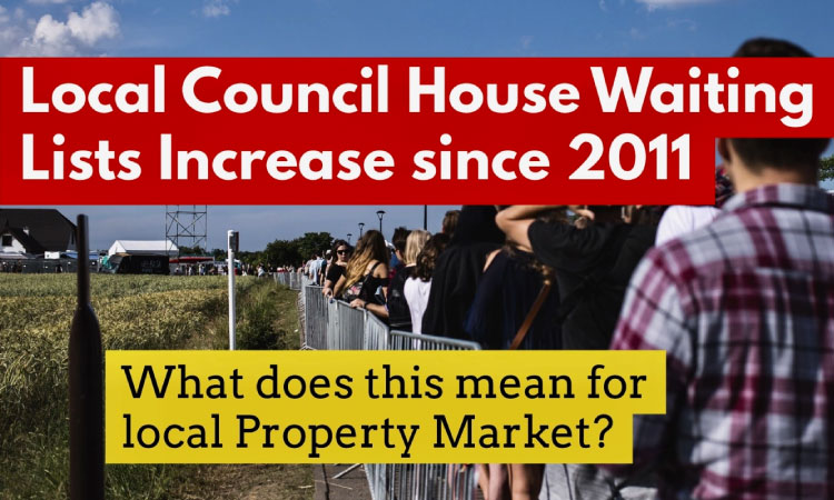 Tarporley and Cheshire West and Chester Council House Waiting List Drops by 61.4% since 2011