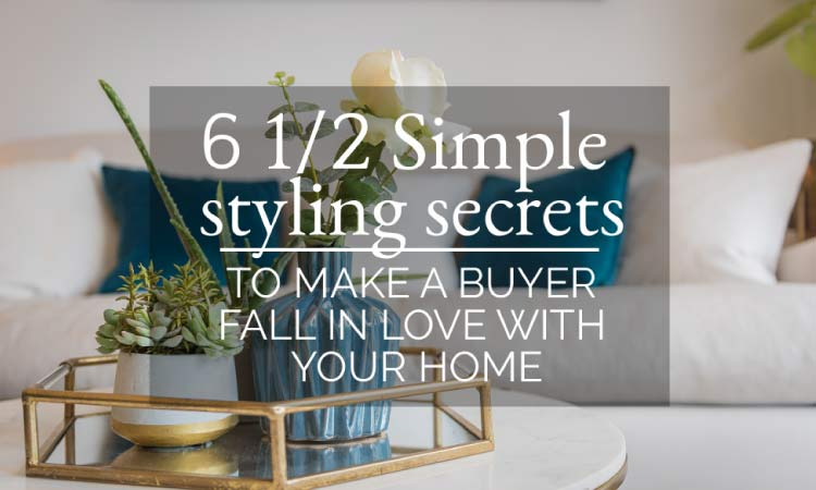 6 1/2 Simple styling secrets